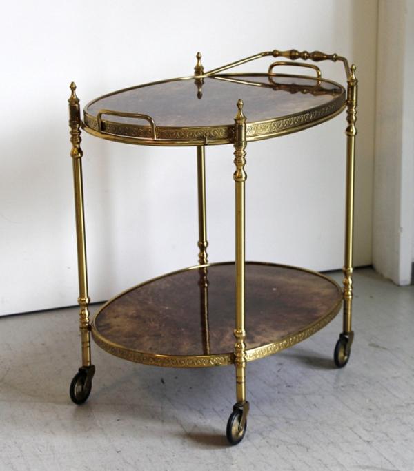goldener barwagen von aldo tura