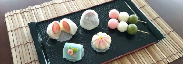 japanische süßigkeiten teezeremonie wagashi