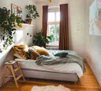 Tolle Gestaltungsideen für ein kleines Schlafzimmer gemütlich einzurichten