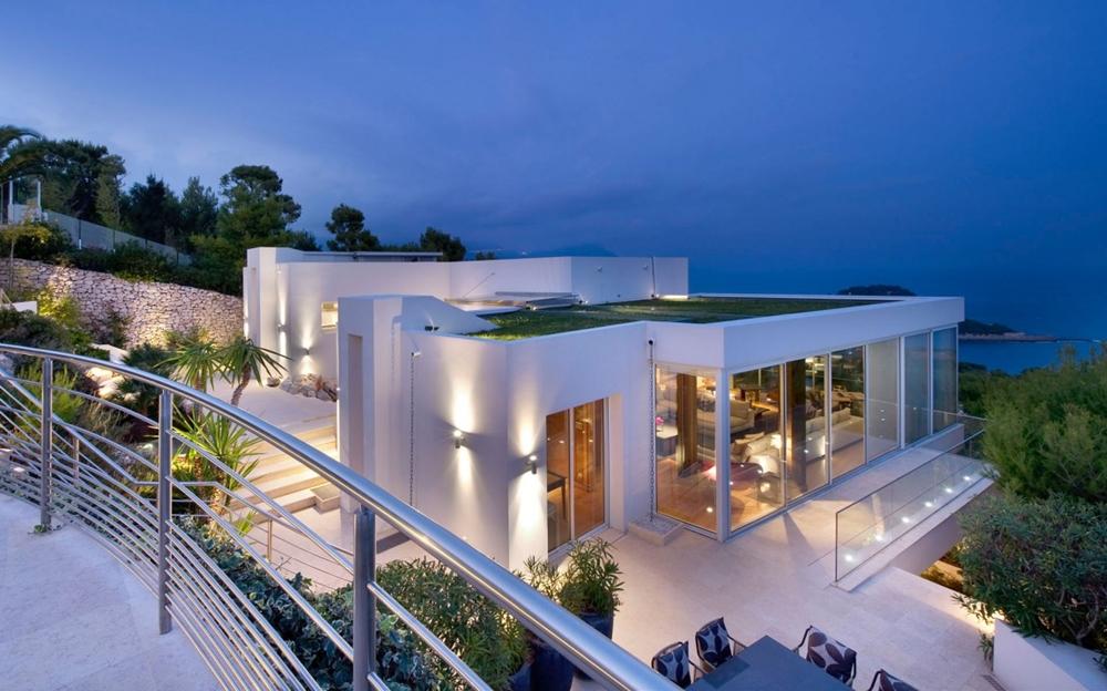 moderne Häuser Aussicht tolle Ideen