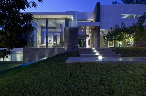 moderne Häuser Gartenideen Gartengestaltung