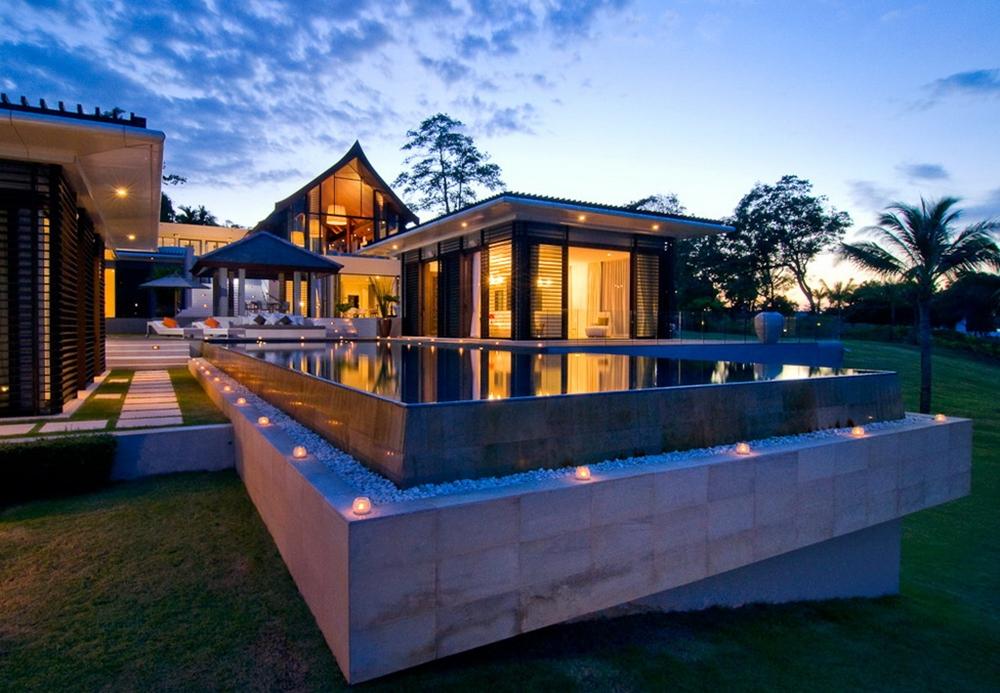 moderne Häuser Gartenideen Inspiration