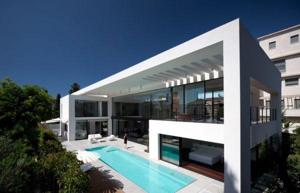 moderne Häuser Ideen für moderne Fassaden