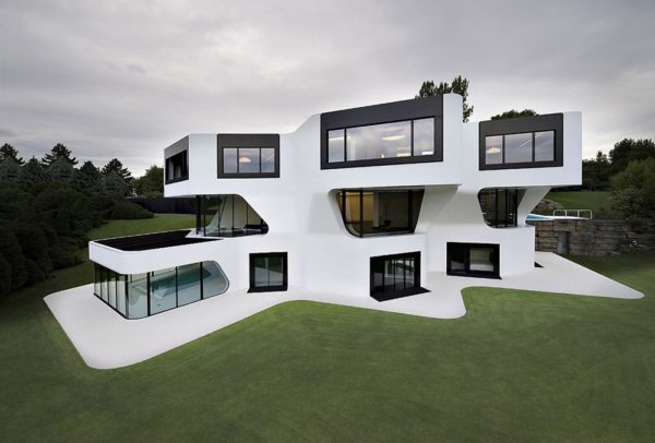 moderne Häuser Lockere Ideen zeitgenössische Architektur