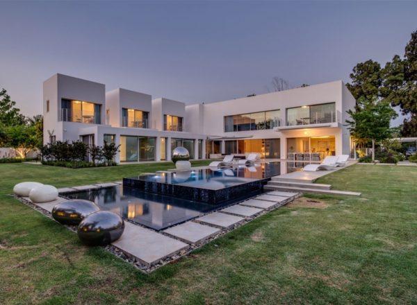 moderne Häuser wohnliches Design