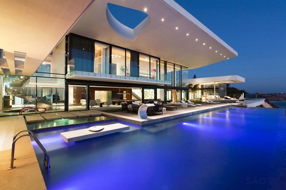 moderne Häuser zeitgenössische Architektur