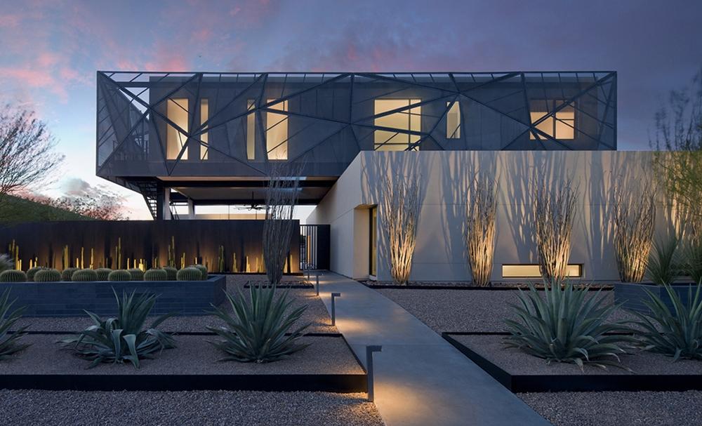 moderne Häuser zeitgenössische Fassadengestaltung