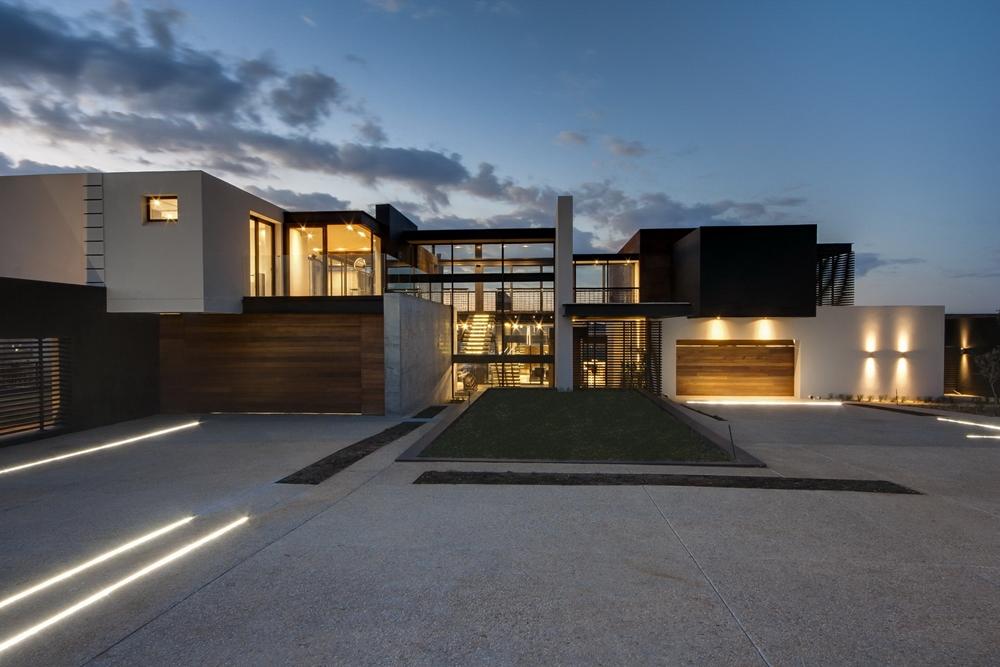 moderne Häuser zeitgenössisches Design