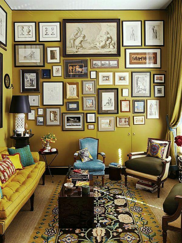 petersburger hängung vintage klassik stil wohnzimmer wanddeko