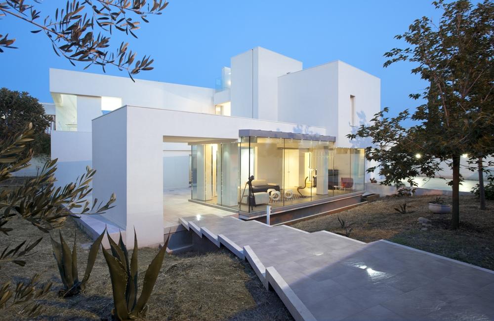 riesige Häuser moderne Häuser