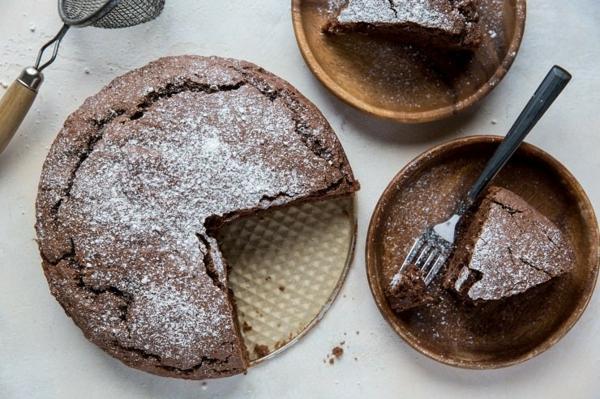 schokoladigen wasserkuchen zubereiten