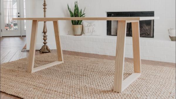 sehr elegante und schlichte idee modernen tisch selber bauen