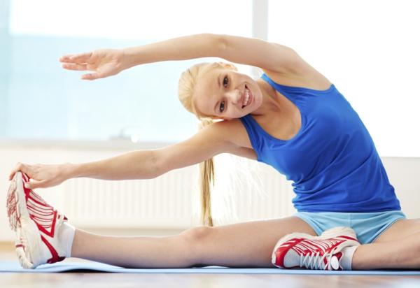 seitendehung psoas muskel trainieren