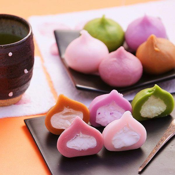 traditionelle japanische süßigkeiten wagashi