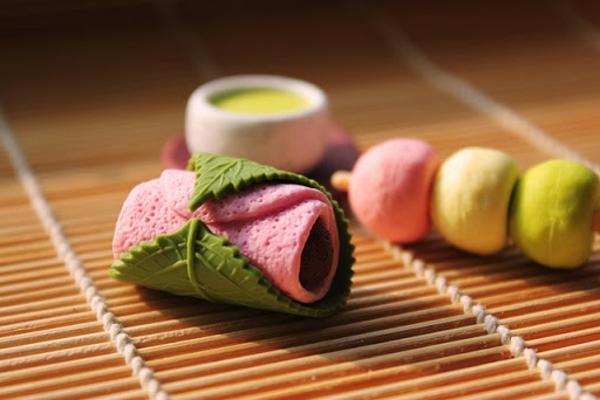 wagashi traditionelle japanische süßigkeiten namagashi teezermonie