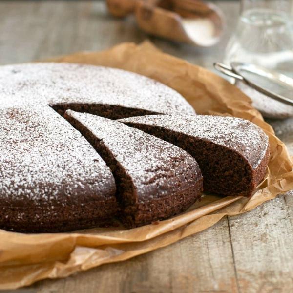 wasserkuchen mit kakao backen