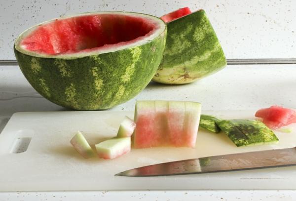 wassermelonen schale essbar