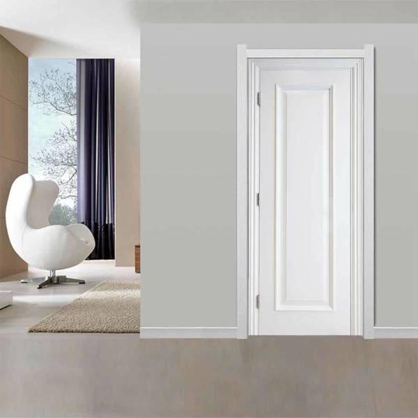 weiße innentüren wohnzimmer