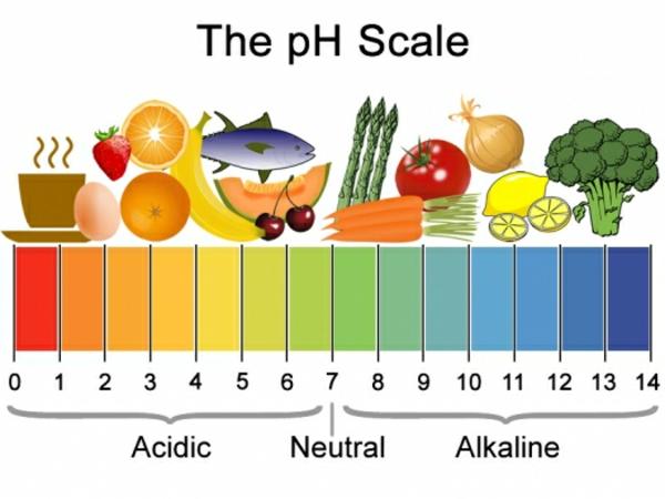 Übersäuerung des Körpers Symptome pH Werte Lebensmittel