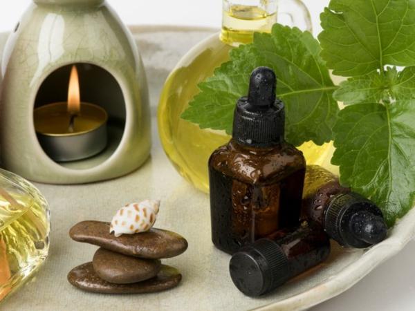 ätherisches Patchouli Öl Aromatherapie Vorteile Blätter