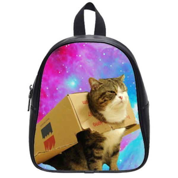 Μια υπέροχη τσάντα γάτας - σχολείο