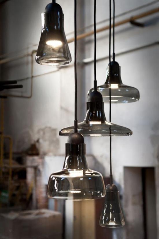 Hängeleuchten Glas das meistverwendete Material bei der Herstellung von Pendelleuchten