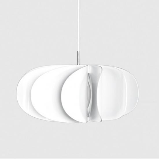 Hängeleuchten gut gerundete Form interessantes modernes Design