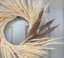 Ländliche Herbstdeko mit Weizen – wie gelingt Ihnen das?