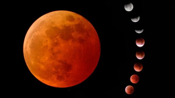 Neumond viele Mondphasen