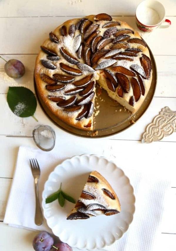 Pflaumenkuchen mit Hefe Rezept Pflaumen Zwetschgen