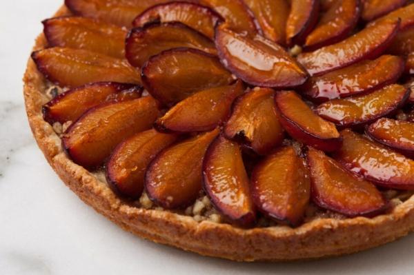 Pflaumenkuchen mit Hefe Zwetschgenkuchen Rezept Pflaumen gesund