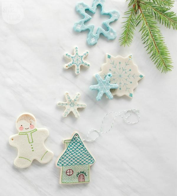Salzteig machen Salzteig Ideen zu Weihnachten