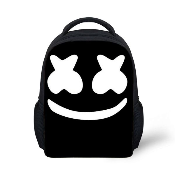 Σχολική τσάντα - υπέροχη ιδέα σε μαύρο και άσπρο