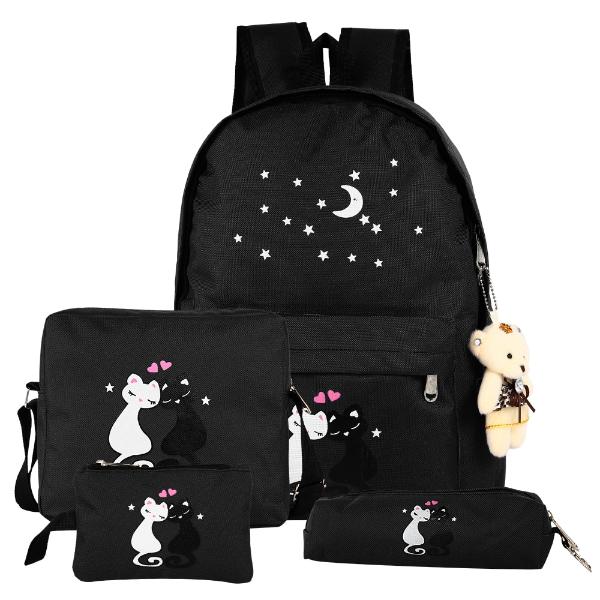 Ιδέες ασπρόμαυρης σχολικής τσάντας