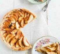 Veganer Apfelkuchen: ein eifaches Rezept, das milch- und glutenfrei ist