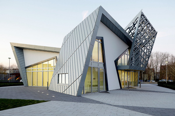 ein tolles gebäude moderne architektur