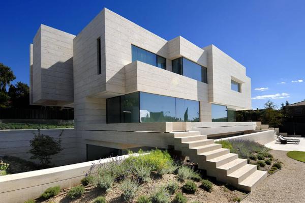 gebäudeeinrichtung -tolle moderne architektur