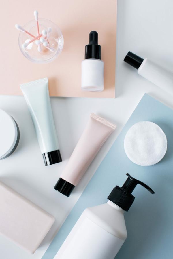 koreanische Hautpflege Routine Produkte