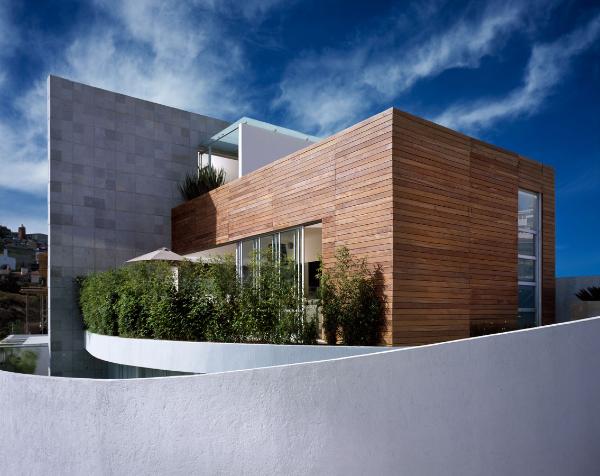 moderne architektur tolle quadratische gebäude aus holz