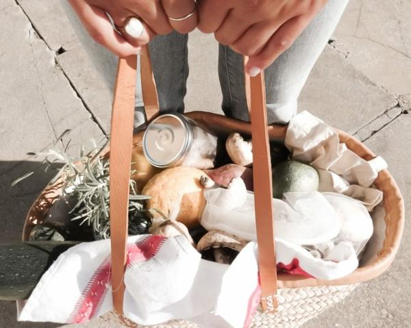 plastikfreie Küche plastikfrei einkaufen Einkaufstasche