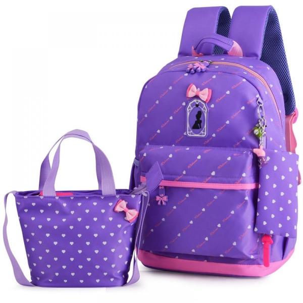 πολύ ωραία μπλε σχολική τσάντα