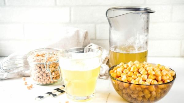 was ist Aquafaba schlagen Rezepte Kichererbsenflüßigkeit