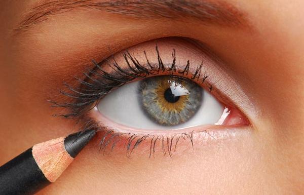 Augen größer schminken Tipps Augen vorheben