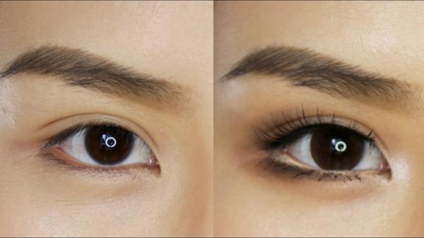 Augen größer schminken Tipps Augenbrauen