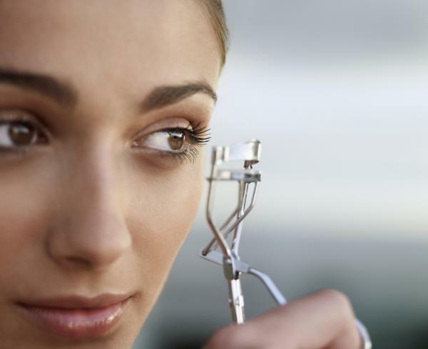 Augen größer schminken Tipps Wimpern