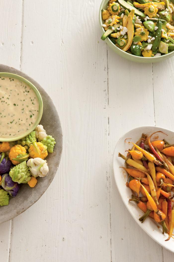 Blumenkohl gesund als Salat zu Häppchen lecker butterig im Geschmack