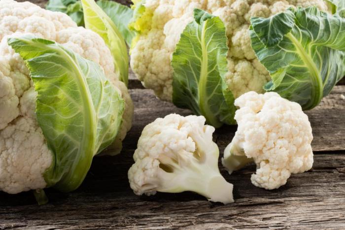 Blumenkohl gesund weiße Röschen kalorienarm fettfrei voll mit Vitaminen ideal bei Diäten Schonkost