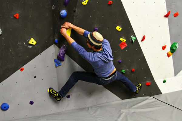 Bouldern Klettern Kletterwand Schwierigkeitsgrad Skala