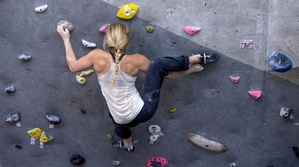 Bouldern Klettern Kletterwand Schwierigkeitsgrad für Anfänger