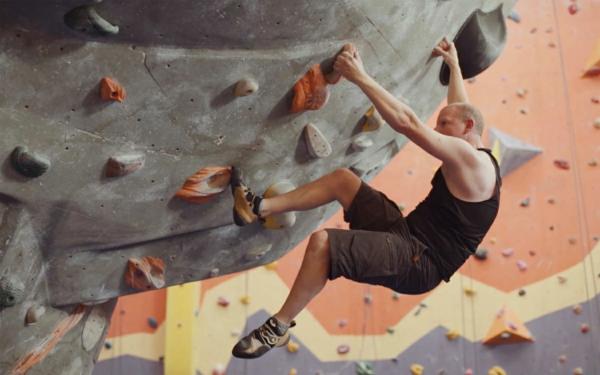 Bouldern Klettern Kletterwand Schwierigkeitsgrad